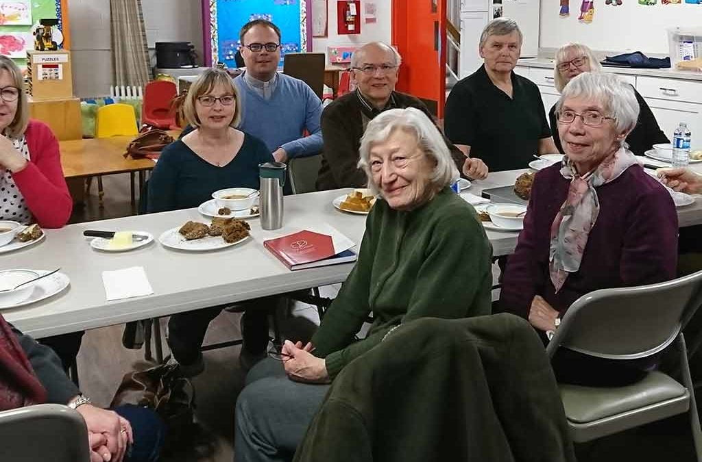Group at Grace Lutheran Church Oakville