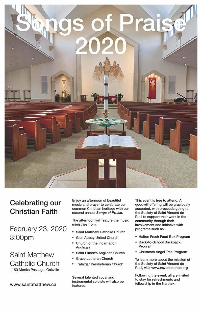 Lutheran Church Songs of Praise 2020