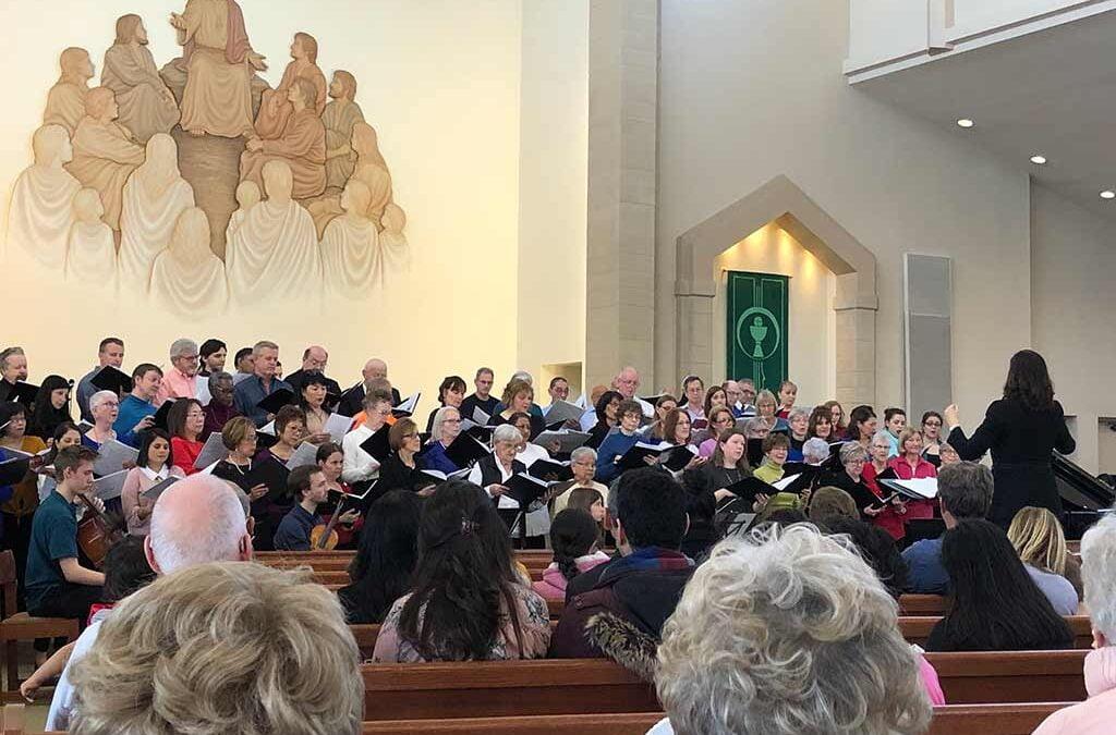 Songs of Praise 2020 in church